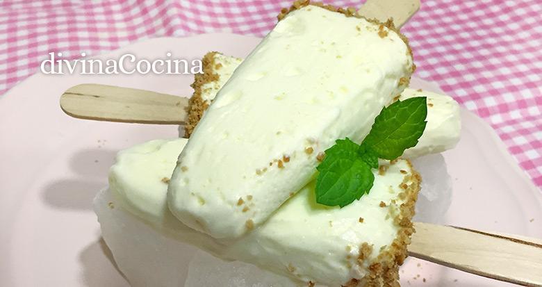 polos de tarta de queso h