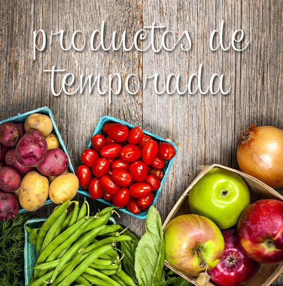 calendario de productos de temporada