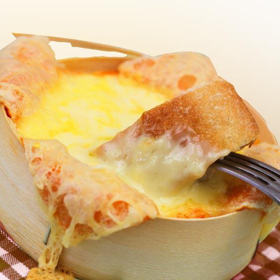 queso camembert al horno