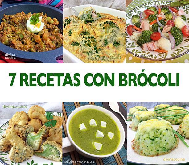 7 Recetas Con Brócoli Fáciles Y Rápidas Divina Cocina