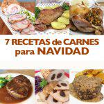 7 recetas de carnes para Navidad