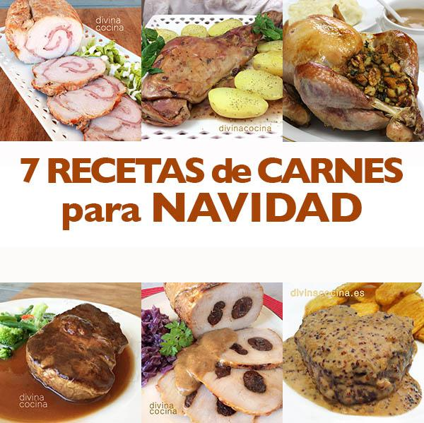 Recetas de Carnes para Navidad Divina Cocina
