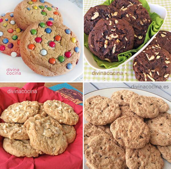recetas de cookies
