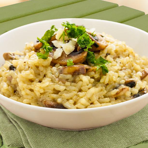 receta risotto facil en microondas