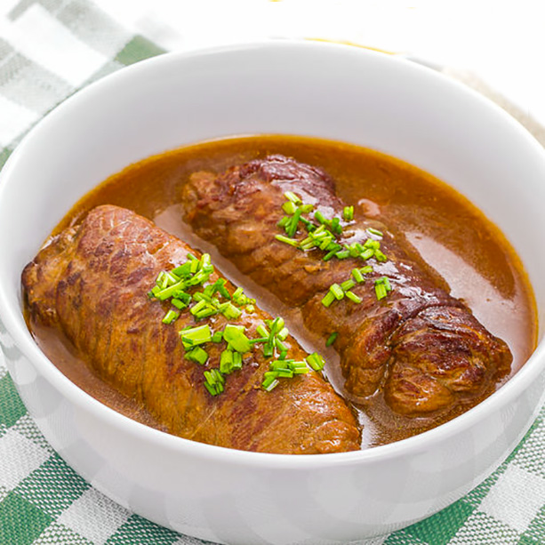 Receta de Rollitos de ternera rellenos - Divina Cocina