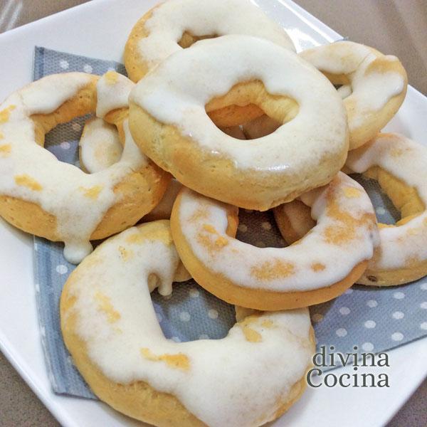rosquillas de limón al horno