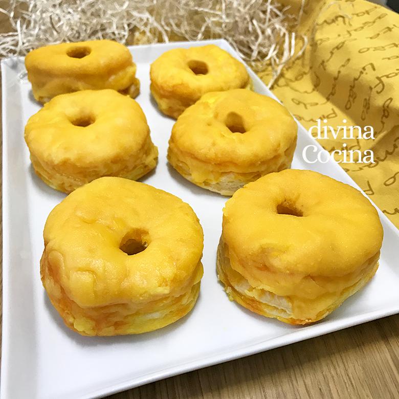 rosquillas de yema de alcala