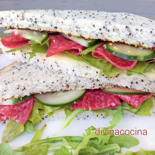 10 sándwiches rápidos con embutidos