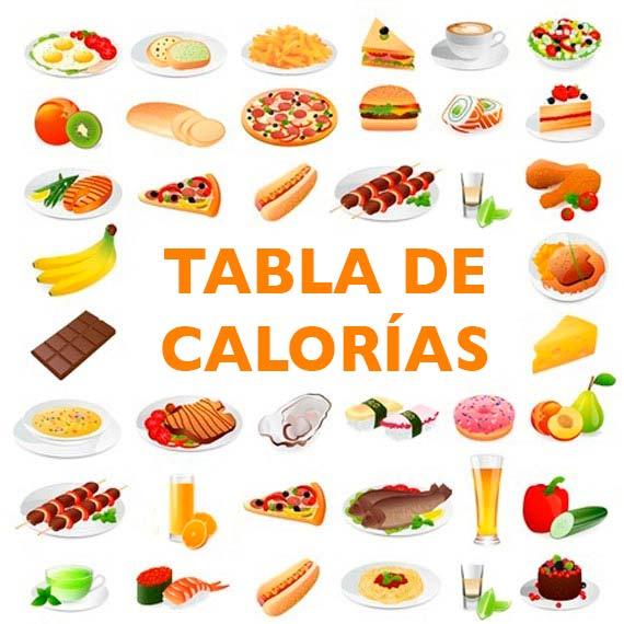 Tabla de calor as divina cocina - Calorias que tienen los alimentos ...