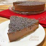 Tarta de chocolate fácil sin horno