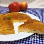 Tarta de manzana fácil a la sartén