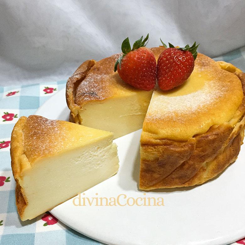 Tarta De Quesitos Y Yogur Receta De Divina Cocina