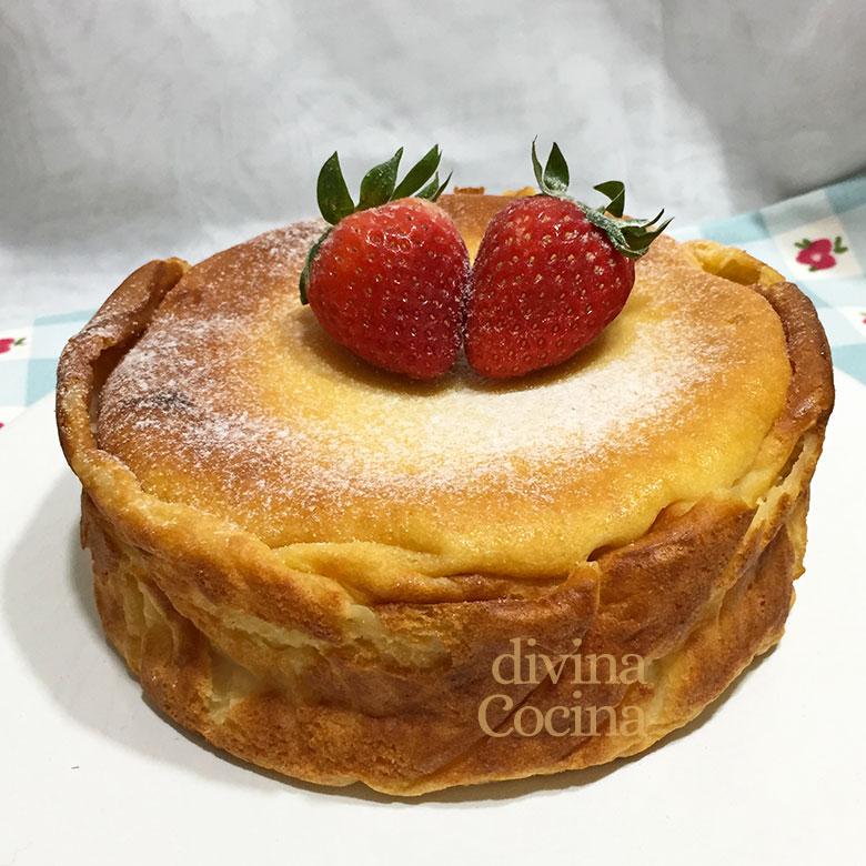 tarta de quesitos y yogur