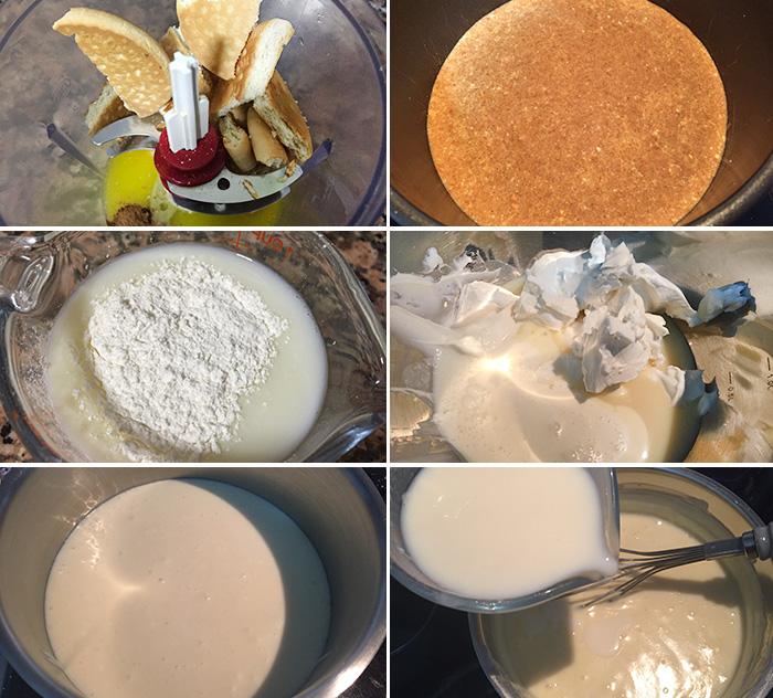 tarta de queso y leche condensada paso a paso