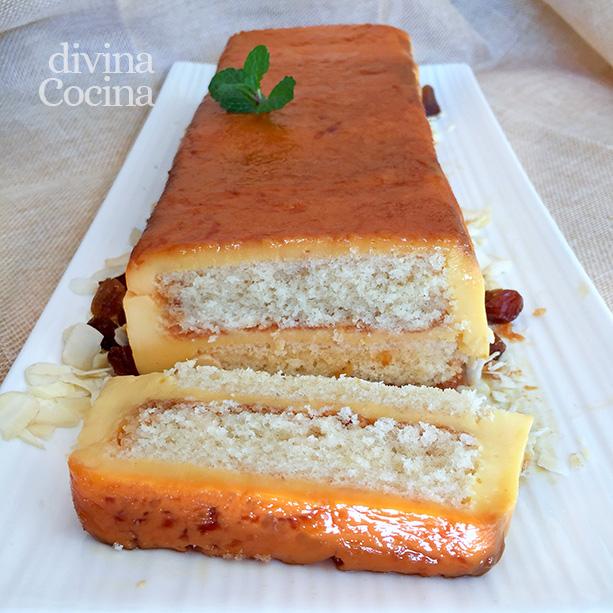 Tarta de flan y sobaos o bizcochos divina cocina for Cocina con sergio bizcocho