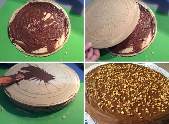 Receta De Tarta De Obleas Y Chocolate Tarta Huesitos
