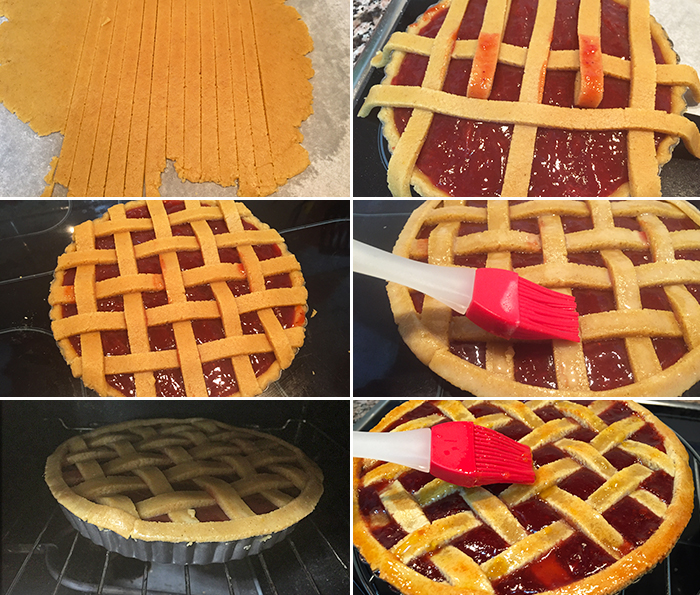 receta tarta linzer