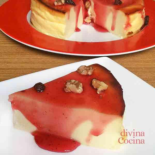 tarta de queso y yogur facil