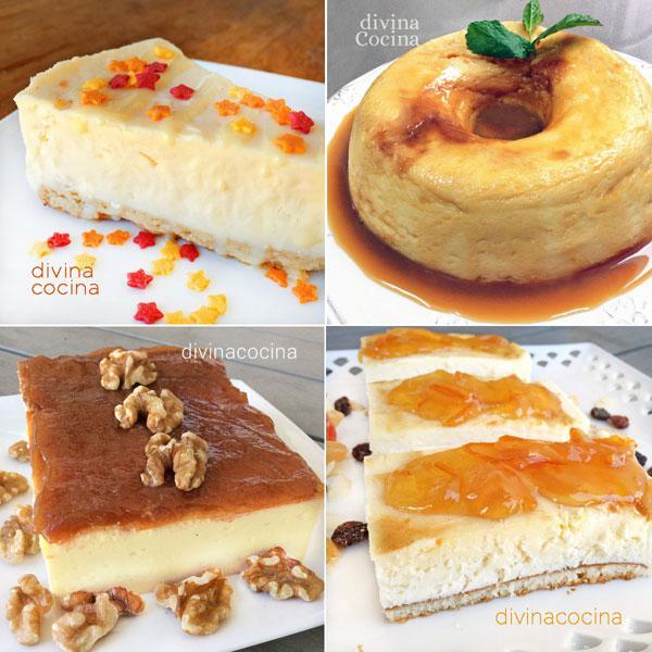 7 tartas de queso fciles que siempre salen bien divina cocina - Divina Cocina