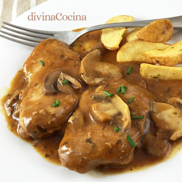 Muy dulces como cocinar ternera en salsa cocinas muy for Cocinar filetes de ternera