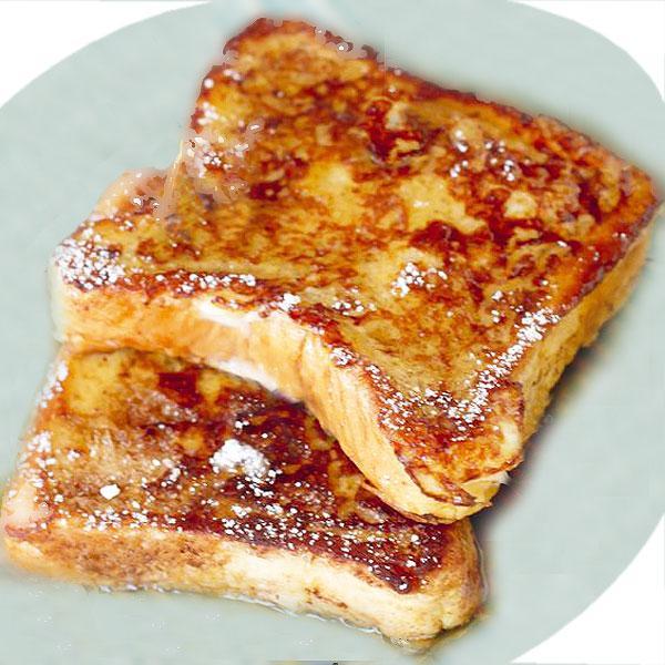 torrijas de pan dulce o bizcocho
