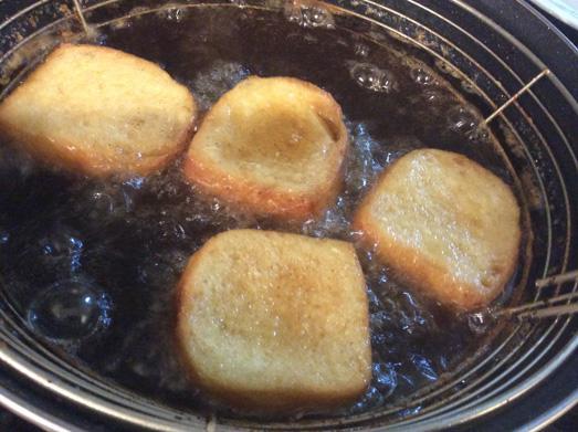 torrijas de leche de coco