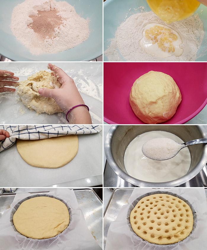 torta de nata gallega paso a paso