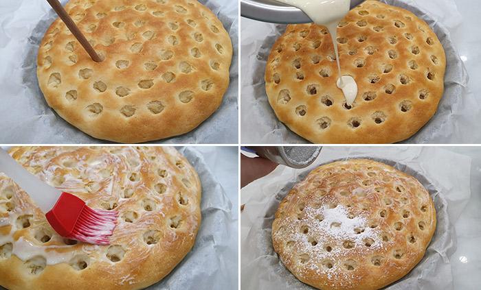 torta de nata gallega relleno