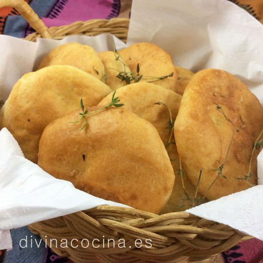 Tortas de pan y aceite