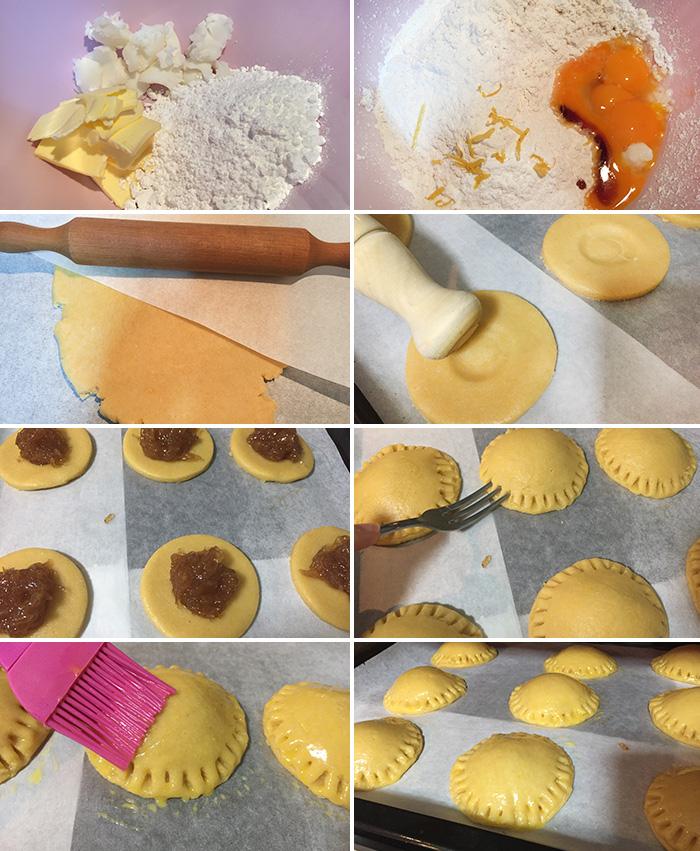 tortas de masa real paso a paso