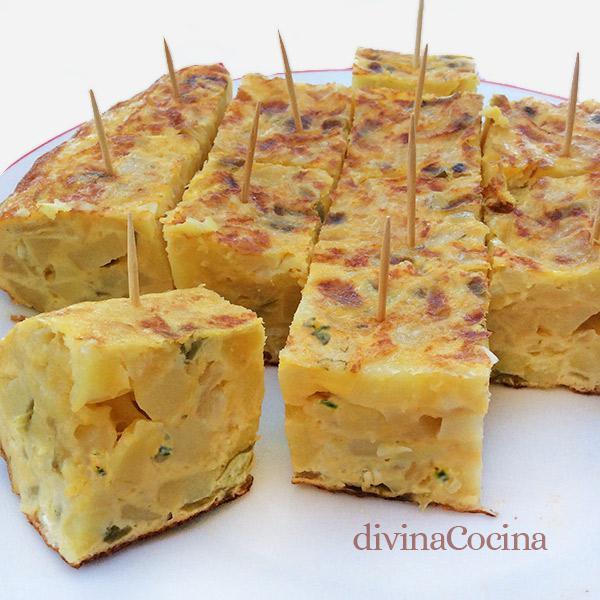 tortilla de patatas maribel