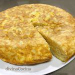 Tortilla de patatas, receta clásica