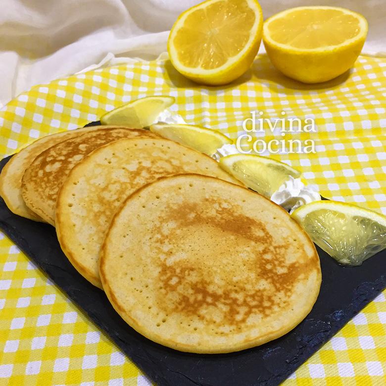 receta de tortitas de limon
