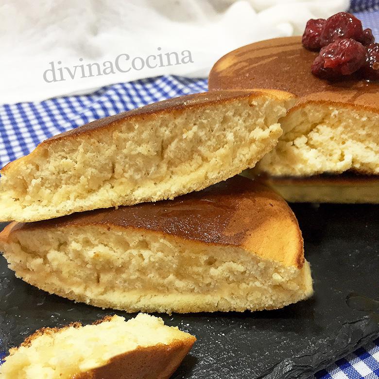 receta de tortitas sufle