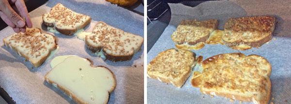 tostadas de leche condensada paso a paso
