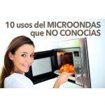 10 usos del microondas que no conocías