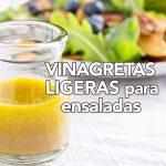 Vinagretas bajas en calorías para ensaladas