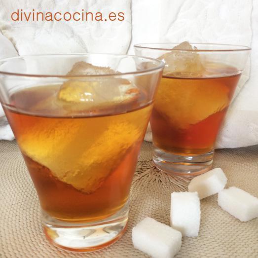 Vodka caramelo casero