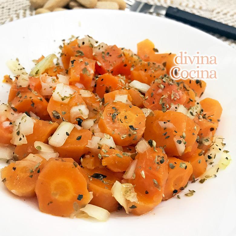 aliño de zanahorias