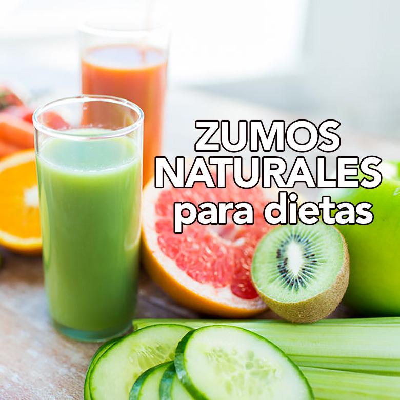zumos naturales que ayudan en la dieta